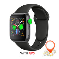 IWO 10 Smart Watch Bluetooth Series 4 GPS Inteligente Brinde Pulseira SmartWatch Android for IOS Upgrade IWO 9 8 7 5 6