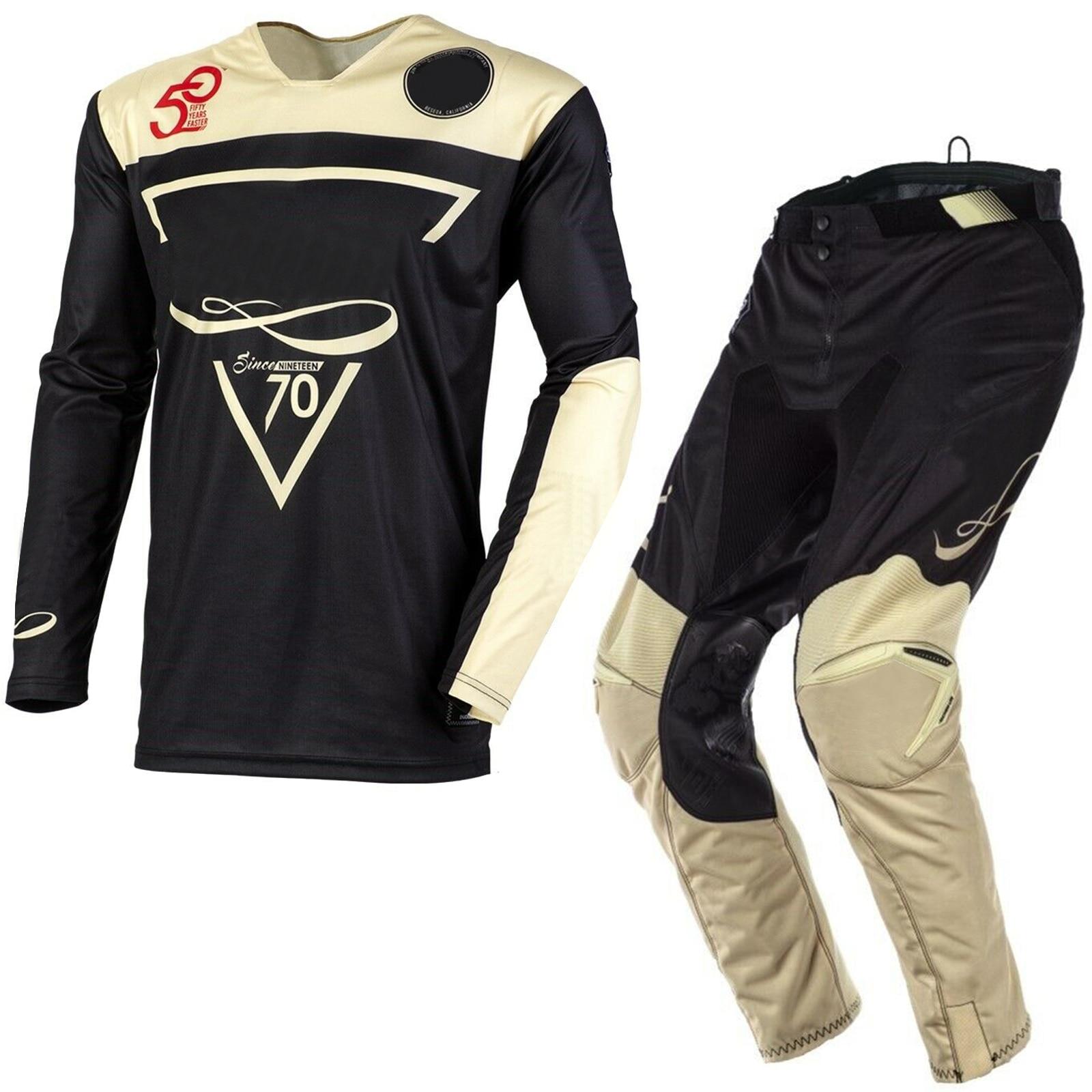 Jersey Pant MX Motocross Dirt Bike ATV Gear Shift Black Label Strike Combo