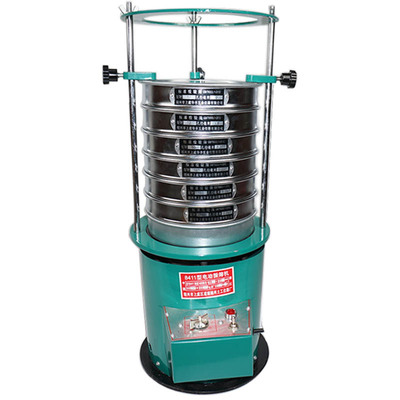 Electric Vibrating Sieve Machine, Sieve Diameter 20cm Sieving shaker with timing function, Screening machine 220v