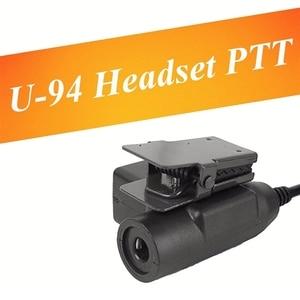 Image 5 - Hot 3C Adapter Z113 U94 PTTมาตรฐานรุ่นPara Walkie TalkieสำหรับMotorola TYT F8 BAOFENG 5Rวิทยุเช็ด