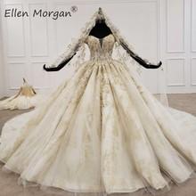 Off Shoulder Ball Gowns Wedding Dresses 2020 Saudi Arabia Floor Length Mexican Vestido Novia Elegant Bridal Gowns with Veils