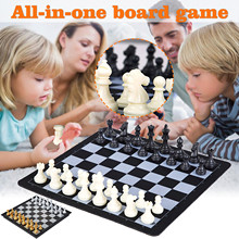 Chess-Set Magnetic-Game-Toy International-Chess Gifts Folding Tournament Fun Adult Children