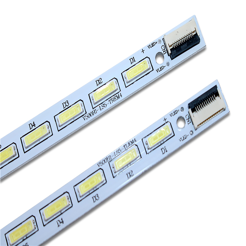 New 6 PCS LED Strip For LE50D8800 V500HJ1-LE1 V500H1-LS5-TLEM6 V500H1-LS5-TREM6 V500H1-LS5-TLEM4 V500H1-LS5-TREM4 E117098