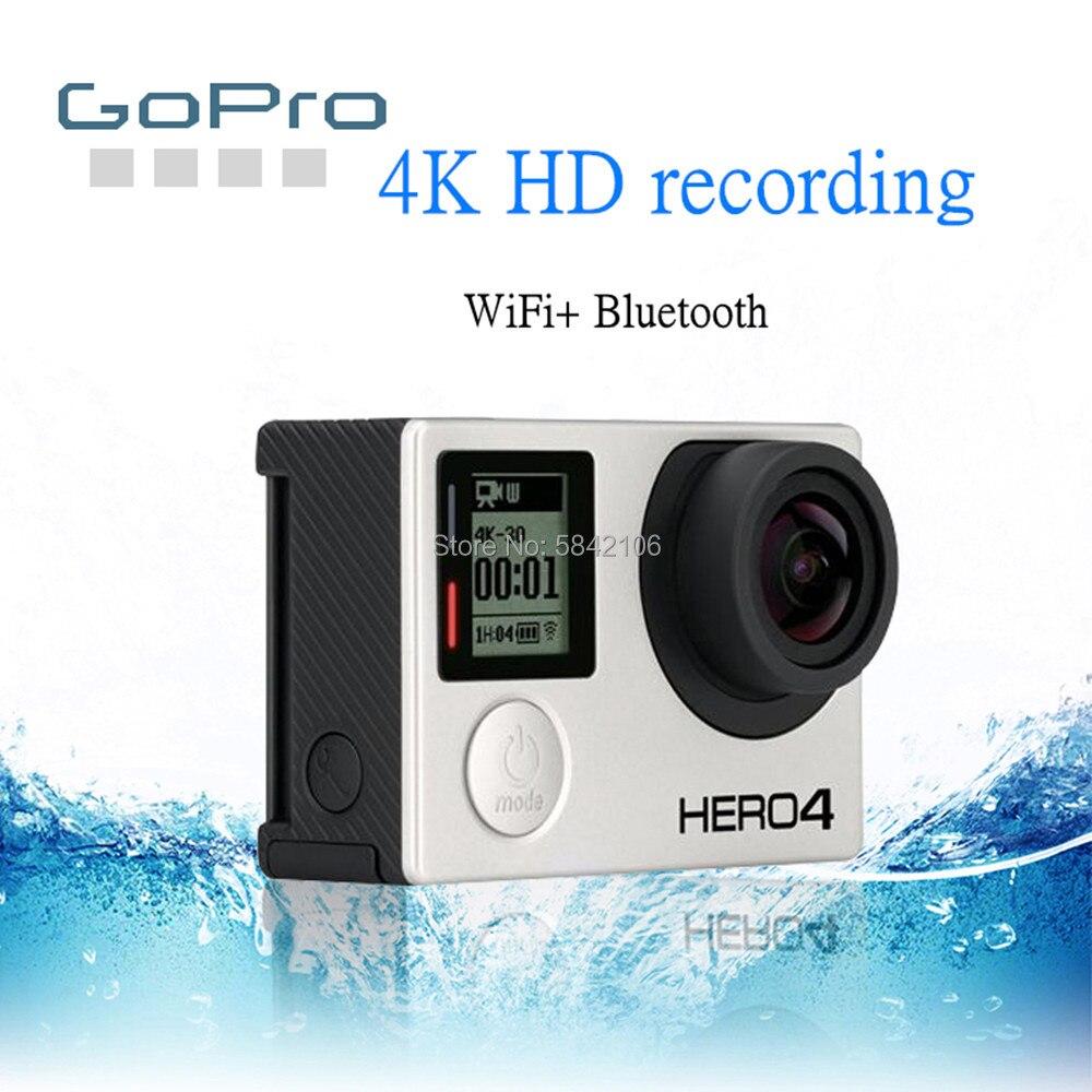 Câmera gopro hero 4 black, filmadora de ação preta gopro hero 4k à prova d
