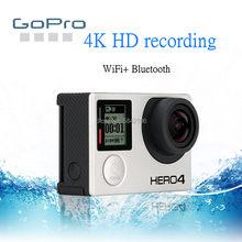 Gopro hd herói 4 preto ação camcorder gopro hero 4 preto à prova dwaterproof água esportes câmera ultra claro 4k