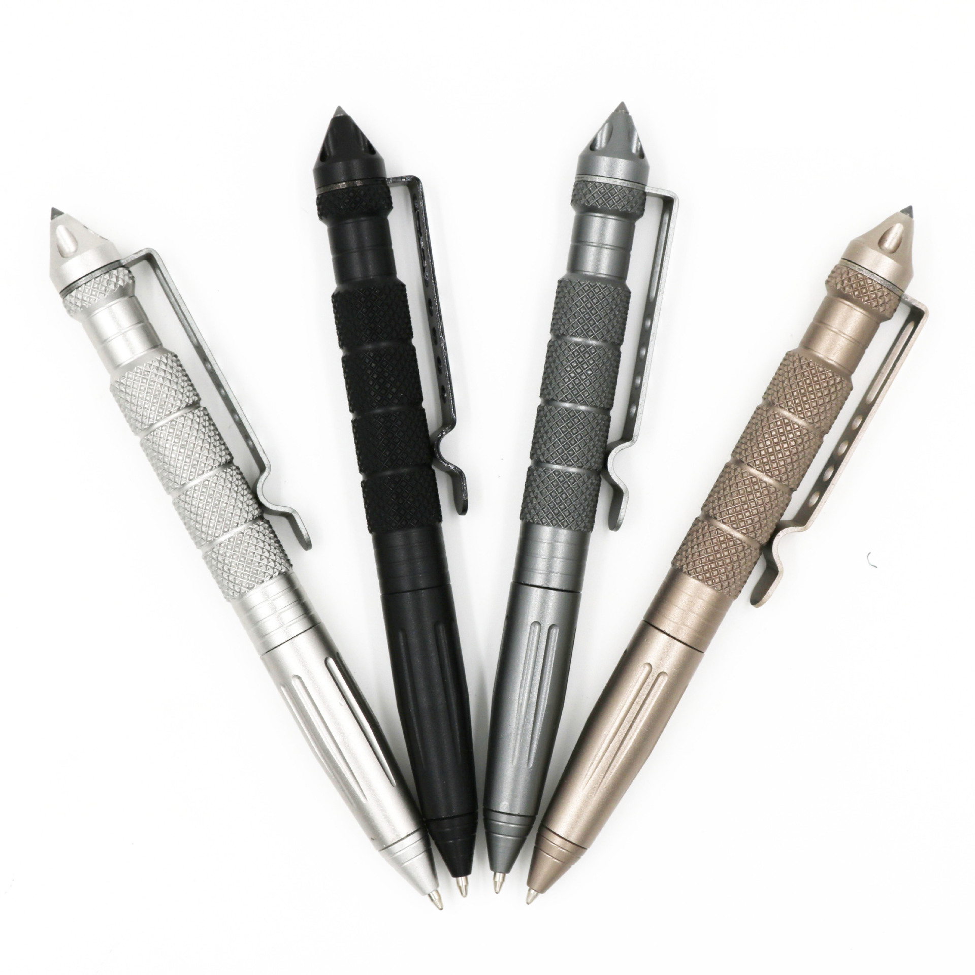Details about  /UK Aluminum Tactical Pen Glass Breaker Writing Survival Outdoor Cool Tool