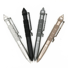 Tactical Pen Multipurpose Tool Self Defense Pen Glass Breaker Aluminum Alloy EDC Outdoor Survival Tool  Writing Ballpoint Pen