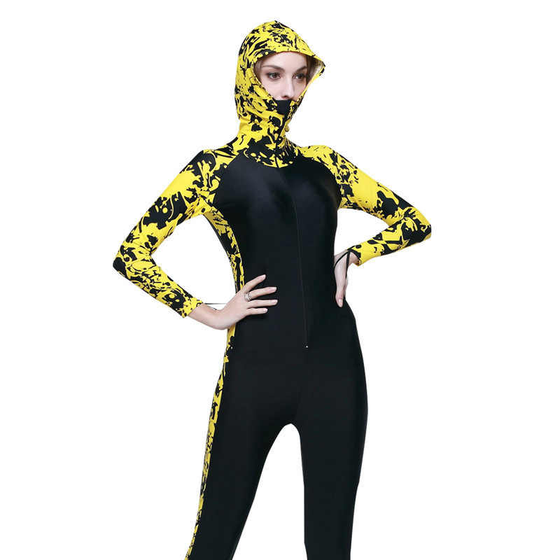 Izin! SBART Snorkeling Diving Renang Selancar Angin Wetsuit Pria Wanita Triathlon Memancing Baju Renang Pakaian Renang UPF 50 +