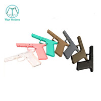 Airsoft Tactical Toy Gun Accessory P1 Lower Grip Plastic Gel Blaster Repalcement Parts  for KUBLAI P1 Lower Handle Accessories