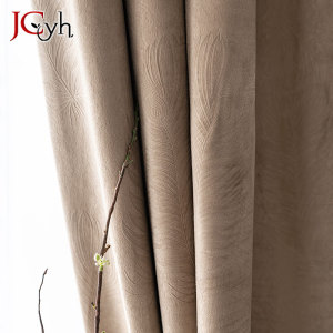 JCyh Feather Curtains For Livi