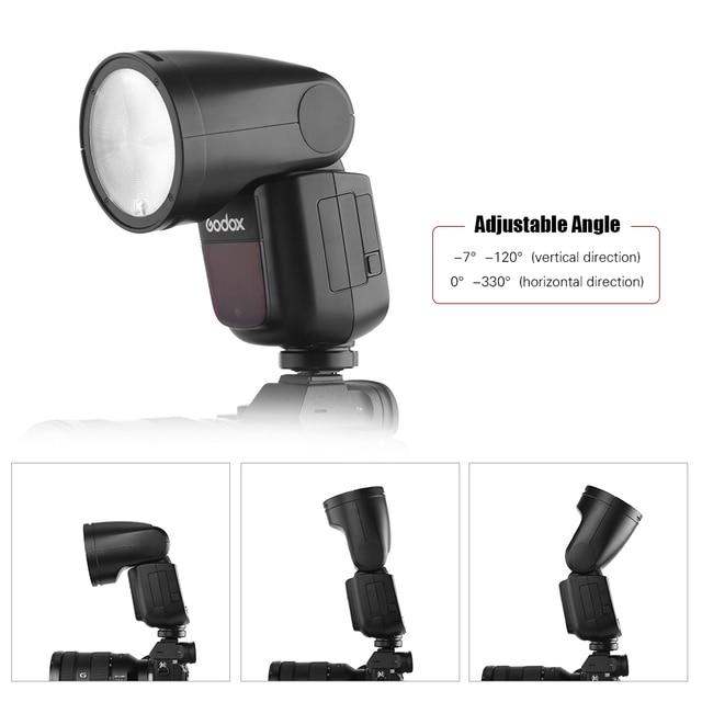 Godox V1S Flash Flash Flash Speedlite + X2T-S TTL déclencheur Flash sans fil pour Sony A7R A58 A99 caméras pour Studio de Portrait de mariage