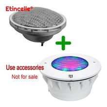 Aquarium light Underwater lamp Swimming pool for cottages Pond fountain outdoor for garden holiday Rgb par56 with remote control
