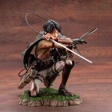 Attaque de 18cm sur Titan Figure Rival Ackerman Action Figure paquet Ver. Levi PVC figurine d'action Rivaille Collection modèle jouets