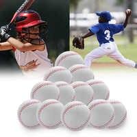 Baseball en mousse PU 9 balle souple étudiant balle molle Baseball Pack de 12