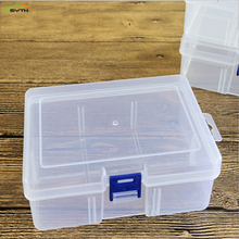 Transparent cover small plastic box bauble parts tool storage jewelry display screw beads fruit container new