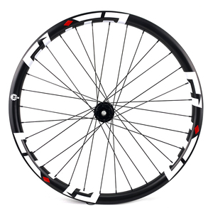 Image 4 - 29er 33mm width 29mm height hookless mtb carbon wheelset 29 inch Carbon Mountain Bike wheels with MTB DT350 hub