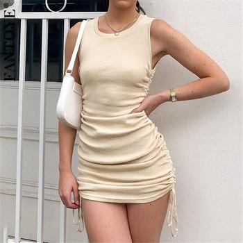 FANTOYE Drawstring Dress 1