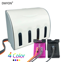 DMYON Replacement for HP 901 XL 901XL CISS for Officejet 4500 J4500 J4540 J4550 J4580 J4640 J4680c Printer