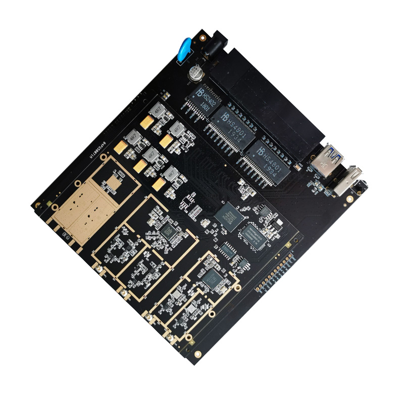 MT7621A + MT7603N + MT7612EN * 2 Solution Development Board 5G Gigabit WiFi Evaluation Test Backplane