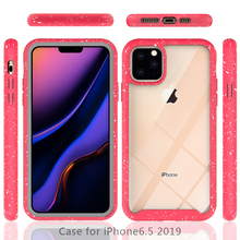 купить For iPhone 11 Pro iPhone 11 Case Back TPU Bumper PC Hybrid Shockproof Silicon Duty Cover for iPhone 11 Pro Max Case Transparent дешево