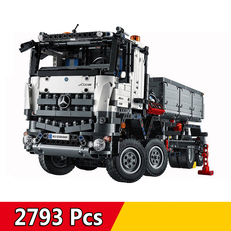 20005 2793Pcs Technic Series Car-styling Truck Model Building Blocks Kits Boy Gift Toys Compatible LegoINGs 42043 Bricks