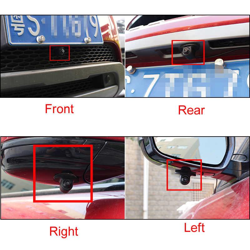 Samochód Mini kamera przednia/boczna/tylna kamera HD Night Vision kamera tylna kamera przednia widok z przodu boczna zapasowa kamera cofania