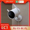 Глобальная версия IMILAB EC3 наружная камера Ip-камера Wifi Mi домашняя камера безопасности 2K камера ночного видения Cctv камера видеонаблюдения