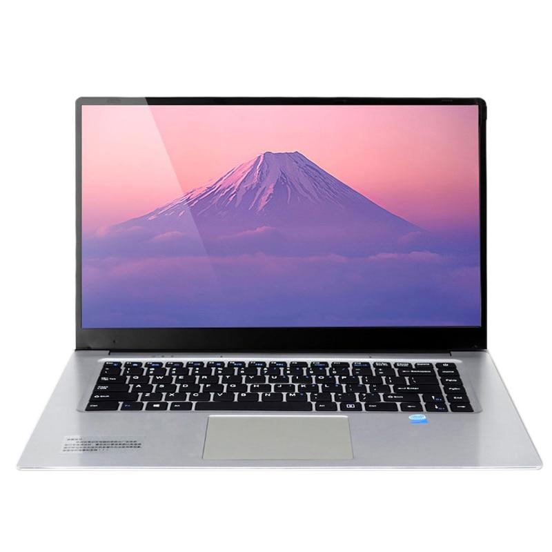 HOT-15.6 Inch 6GB RAM SSD Ultrabook Gaming Laptops For Intel J3455 Win10 1920x1080 Full HD Notebook