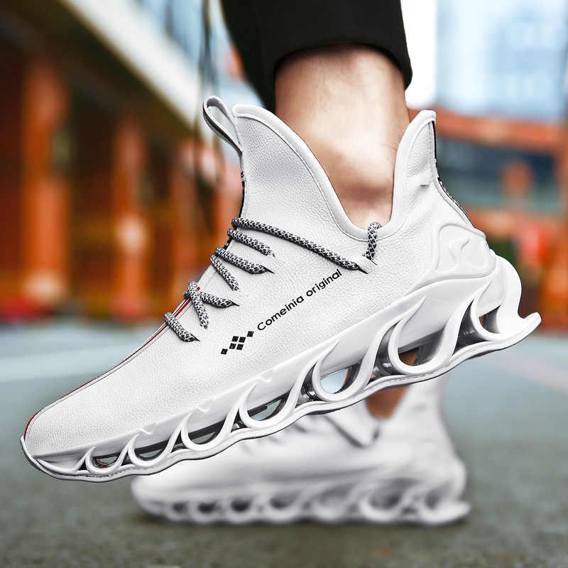 Sneakers erkek kapalı beyaz ayakkabı koşu ayakkabıları hızlı örgü orijinal lüks eğitmen Sneakers yarış erkek kadın rahat ayakkabılar loafer'lar
