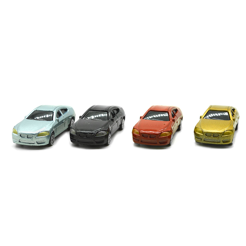 50pcs Model Cars Toys 1/100 1/150 1/200 Building Train Layout Set Model Train HO/TT/N/Z Scale Railway Modeling Making Material