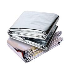 Blanket Green Mylar-Film Reflective Home-Shop for 5pcs House-Supplies Foil-Slices Multi-Use