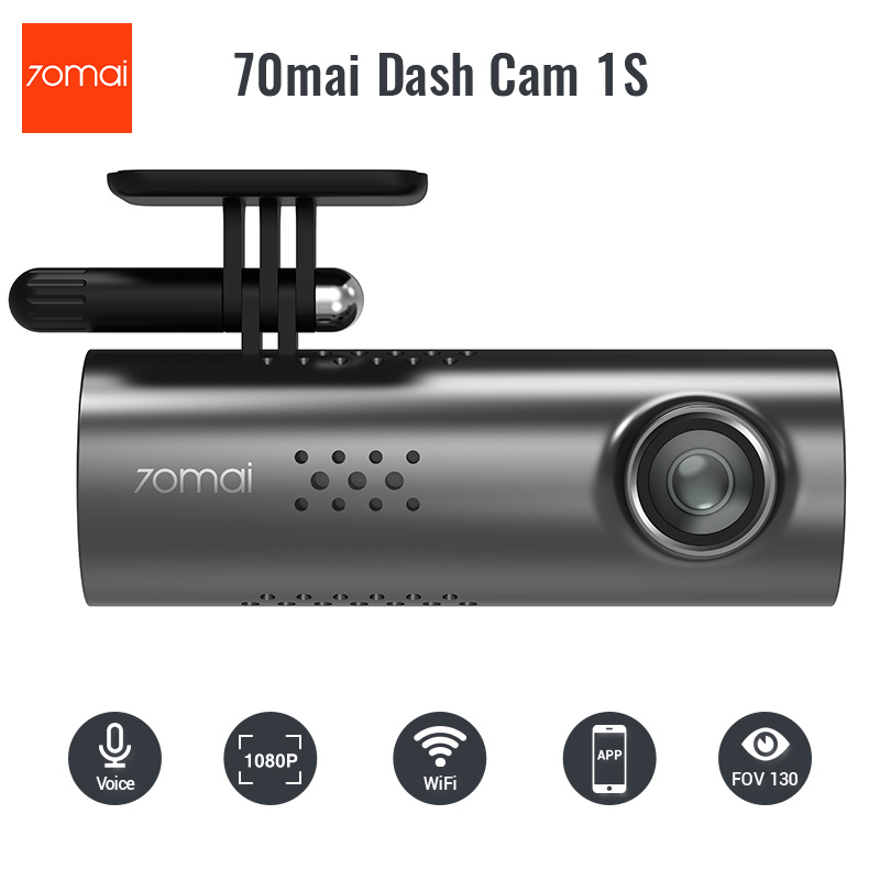 2019 New 70mai Smart Dash Camera 1S Voice Control Car DVR Car Camera - English And Russian Version