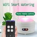 2020 wifi controle planta sistema de irrigação por gotejamento jardim automático dispositivo rega potes máquina luz preenchimento automático bomba água cronometrado
