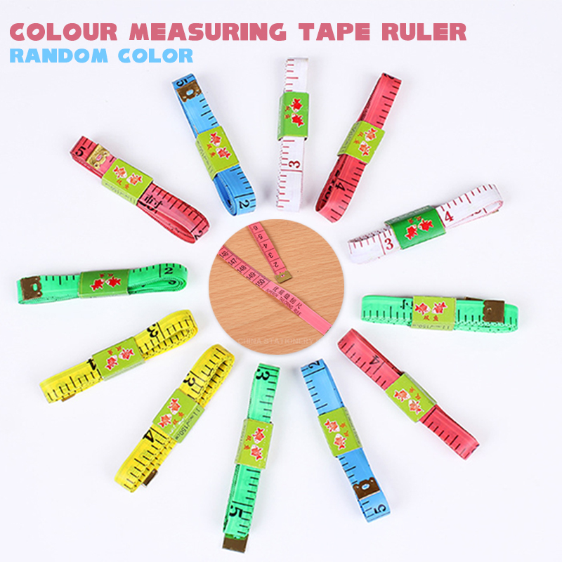 Colour Measuring Tape Ruler For Measuring Bust And Waistline Three Circumference Ruler For Measuring Clothes