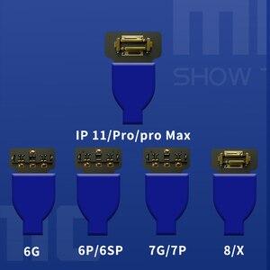 Image 2 - Linha de inicialização móvel do cabo de teste da fonte de alimentação do interruptor mecânico ios/android para o iphone 6/7/8/x/xs max/11/11pro samsung huawei oppo xiao