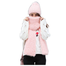 jzhifiyer Knitted Scarfs Hat Sets Designer Winter Plain Scarves Caps Womens Round Scarf New Fashion Knit