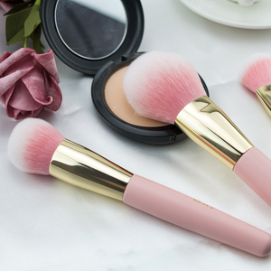 Image 4 - BEILI box packing 15pcs makeup brushes set matte Pink Highlight Foundation Powder Eye shadow pro brush brochas maquillaje