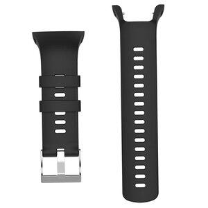 Image 4 - حزام ساعة سيليكون حزام (استيك) ساعة استبدال ل Suunto المتقشف المدرب المعصم HR