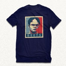 Dwight schrute beets shirt the office farms t-shirt funny vegan poster tee cd(China)