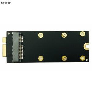 New mSATA SSD To SATA 7+17 Pin Adapter Card 2012 for MacBook Pro MC976 A1425 A1398