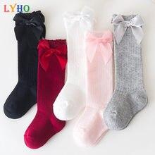LYHO Детские носки 2021; Сезон зима-весна; Гольфы для маленьких детей, детские носки для девочек, на возраст 6 мес. от 12 месяцев до 2 лет, детское ни...