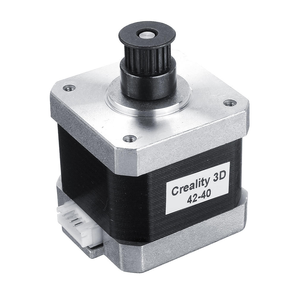 Creality 42-40 RepRap CR-10 Stepper Motor Two Phase 2GT-20 Timing Pulley For Ender CR-10S Pro/CR-X 3D Printer X Y Axis Parts