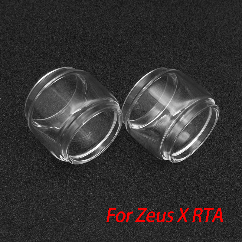 GeekVape Replacement Glass Tube Bubble For Zeus Dual/Zeus X Tank Atomizer Fit Legend Kit 200w Box Mod