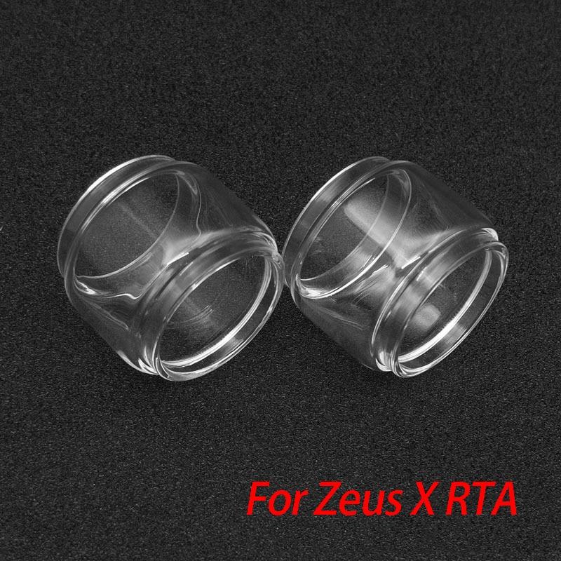 GeekVape Replacement Glass Tube Bubble For Zeus Dual/Zeus X Tank Atomizer Fit Legend Kit 200w Box Mod