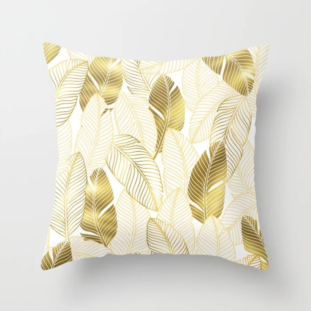 Tropical Leaf Cactus Monstera Cushion Cover Polyester Throw Pillows Sofa Home Decor Decoration Decorative Pillowcase 40506-1 (10)