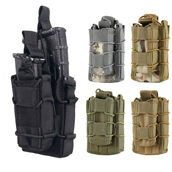 Tactical Molle Magazine Pouch Bag for M4 M14 AK Airsoft Open Top Rifle Pistol Mag Ammo Pocket Case Hunting Accessories - discount item  25% OFF Hunting