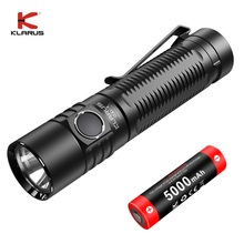 LED Flashlight 21700 Cree Xhp Klarus Battery 5000mal Usb Rechargeable 4000LM Camping
