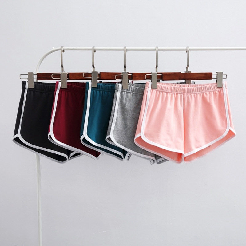 Women's Sports Shorts Women Running Yoga Shorts Wide Leg Tide Leisure Shorts Women's Sports Shorts Cotton Material Yoga Shorts