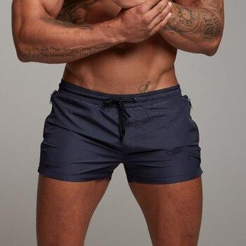 Men Shorts Bodybuilding Shorts Summer Casual Cool Short