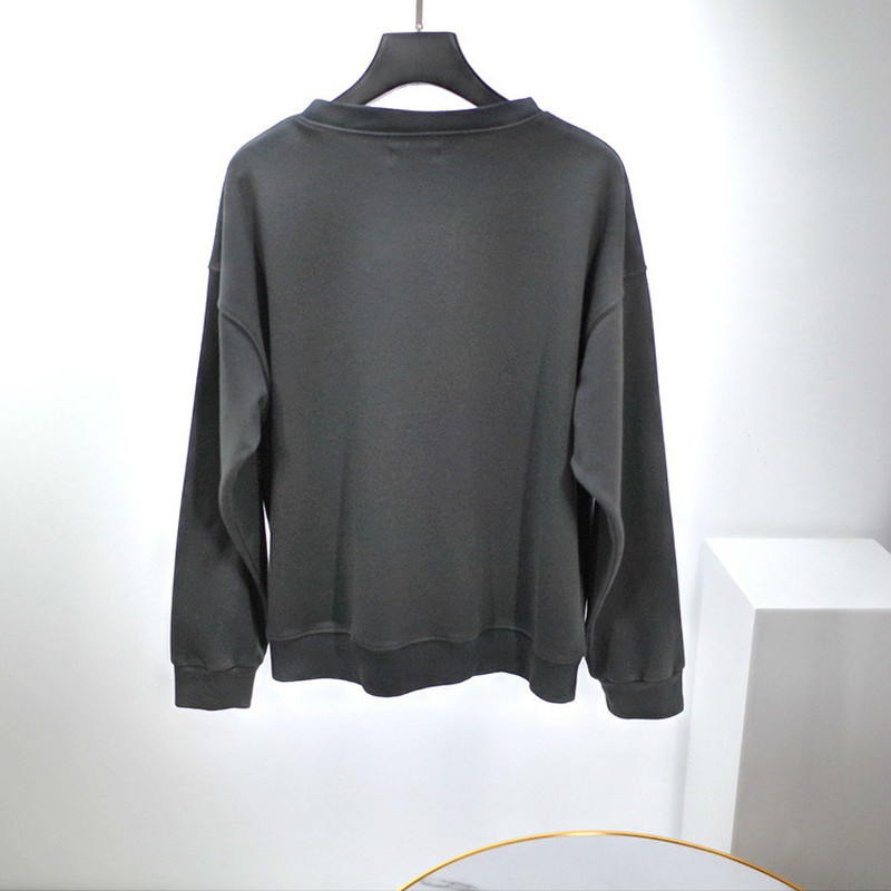 Women Sweatshirt Tiger Printed Long Sleeve 100% Cotton Sweatshirt